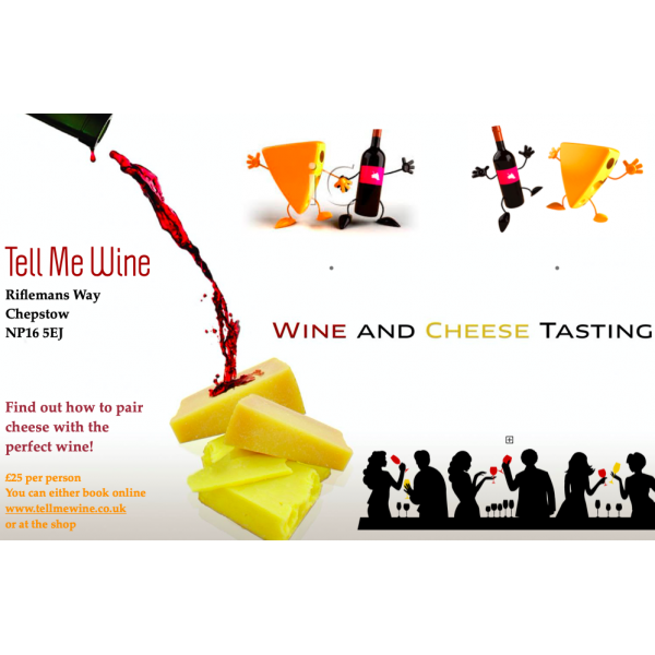 Wine and Cheese Tasting 4/09/2020