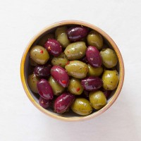 Tricolore Olives Deli Pot 60g