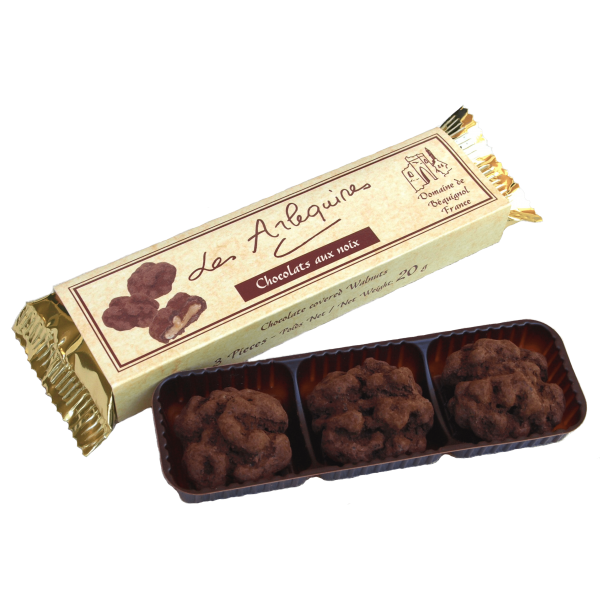 Chocolate Covered Walnuts (3 tray)